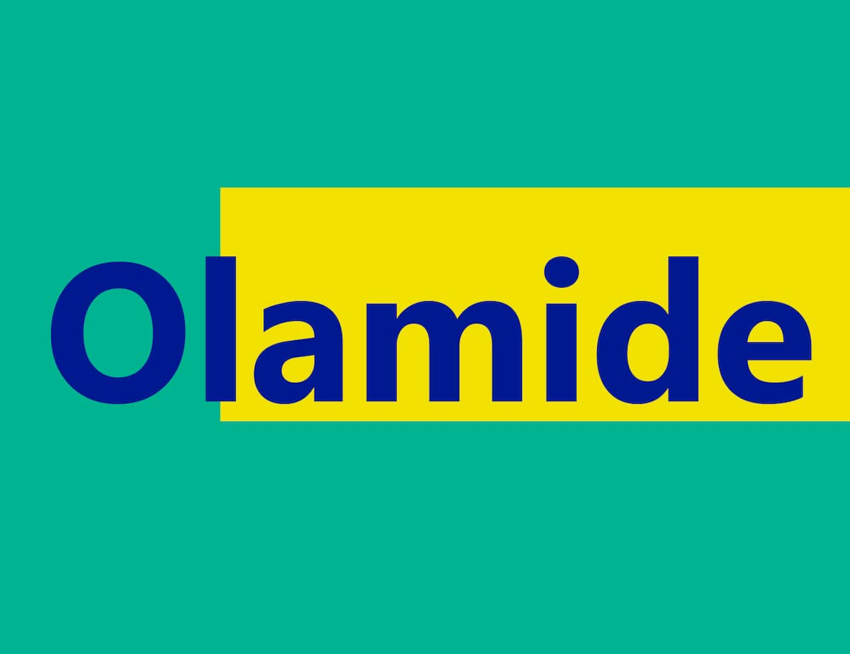 Olamide meaning in Urdu and Yoruba ▷ Legit ng