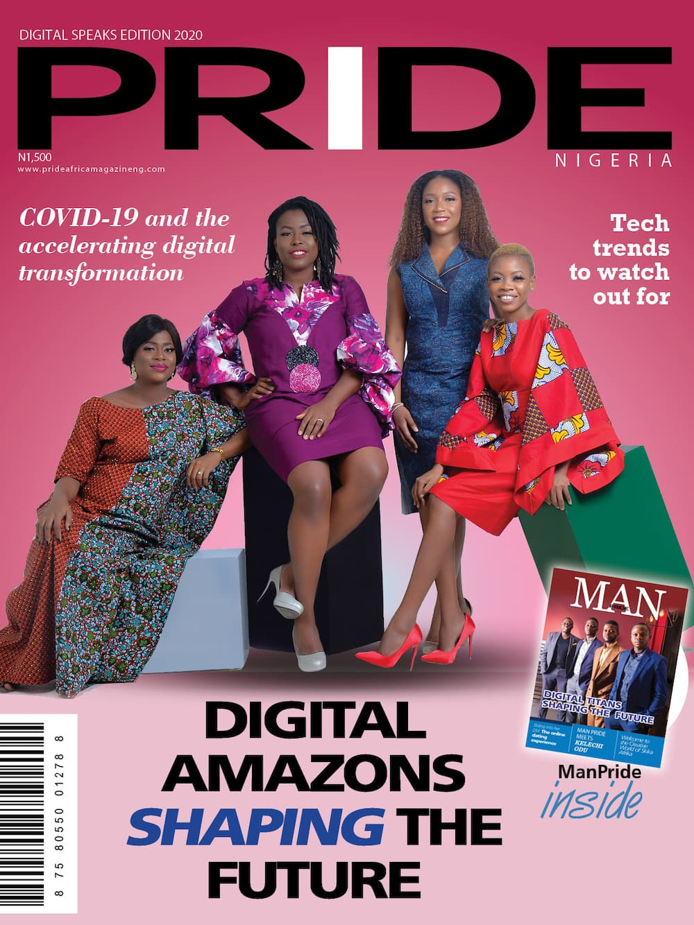 Pride Magazine Nigeria's Digital Speaks Edition to be unveiled at the 2020 Virtual Pride Women Conference