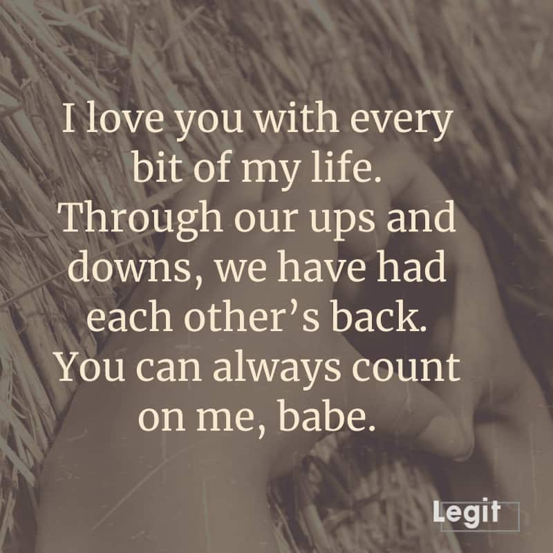 love words for him