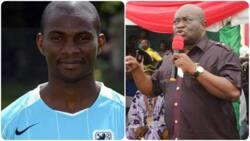 Jubilation as former Super Eagles defender nominated for huge political role in Nigeria