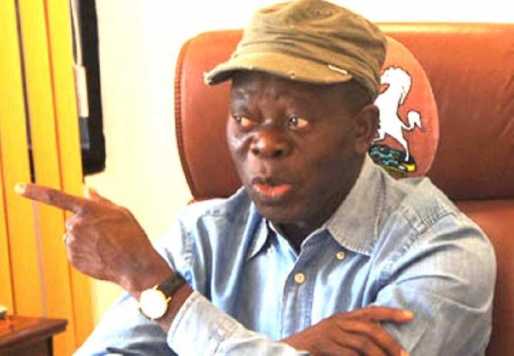 Zaben Edo: Oshiomhole ya sha alwashin tsige Obaseki daga kujerarsa
