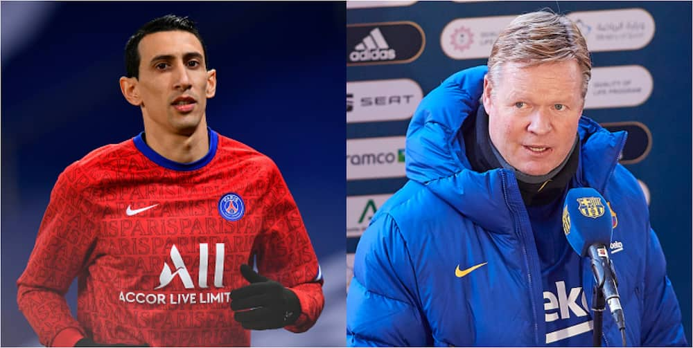 Barcelona boss Koeman slams PSG star for recent comments about Messi