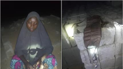 Before my arrest, I was in Sambisa forest working for Boko Haram - Suspected female bomber confesses (photo)