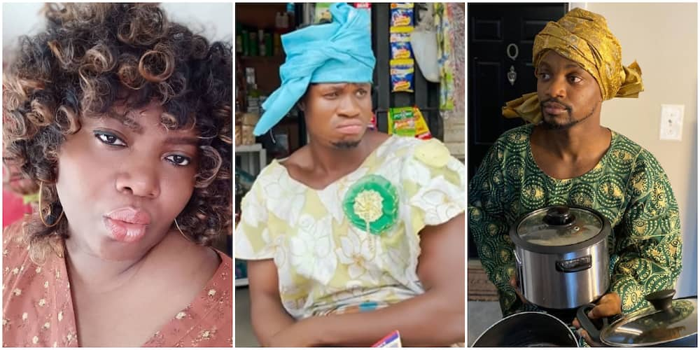 Nigerian woman, Zicsaloma, and Mama Tobi