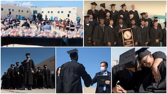 Prisoners in America get second chances, bag degrees while serving jail term, graduation video goes viral