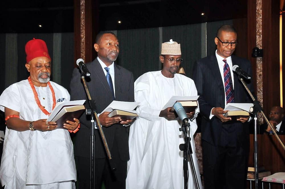 Ngige and other Nigerian ministers