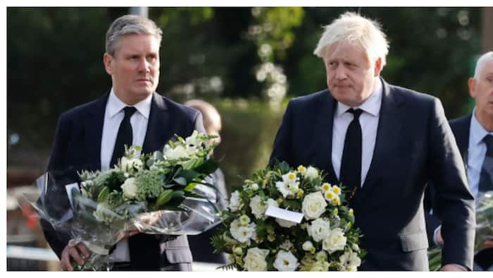 Updated: Boris Johnson visits church where late MP Amess was stabbed to death