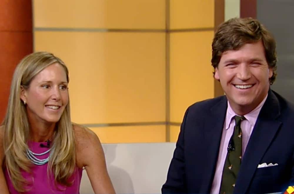 Who is Tucker Carlson's wife?