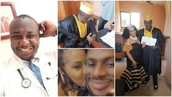 You snatched my wife from me - Nigerian man accuses colleague & friend, shares photo, video of him kissing her