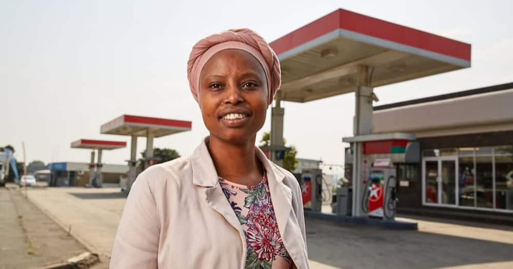 From cashier to petrol station owner, meet Khumbu Shelemba