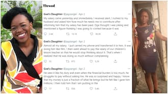 The day I collected my salary, I took it all to my husband, ask what he wants - Woman says