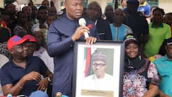 Get ready - Akpabio says the entire south south will fall for APC just like the south west