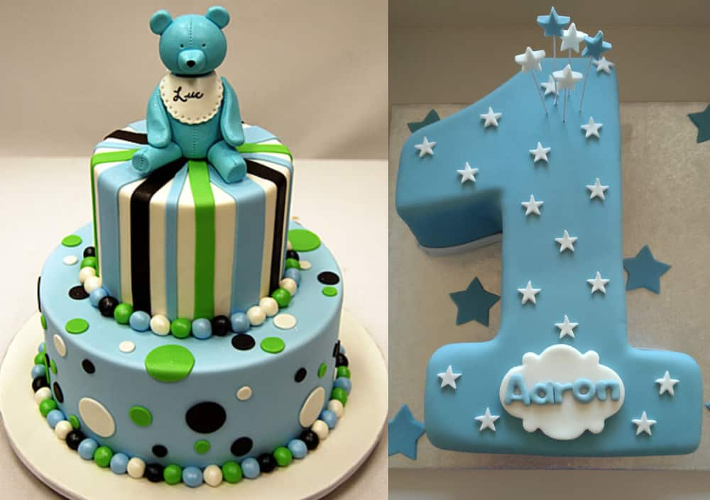 One Year Birthday Cake Ideas For A Boy