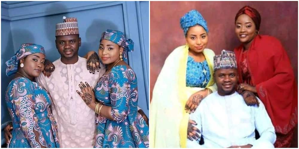 Friend celebrates as Nigerian man plans to wed two beautiful ladies at the same time