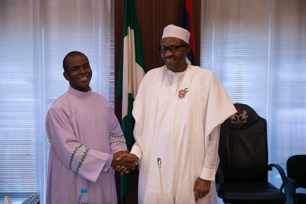 Father Mbaka Drops New Prophecies, Speaks On What Will Happen to Buhari Govt if He's Attacked