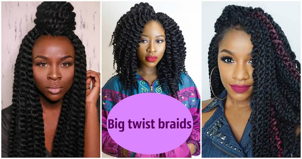 Twist Braids Hairstyles For Real