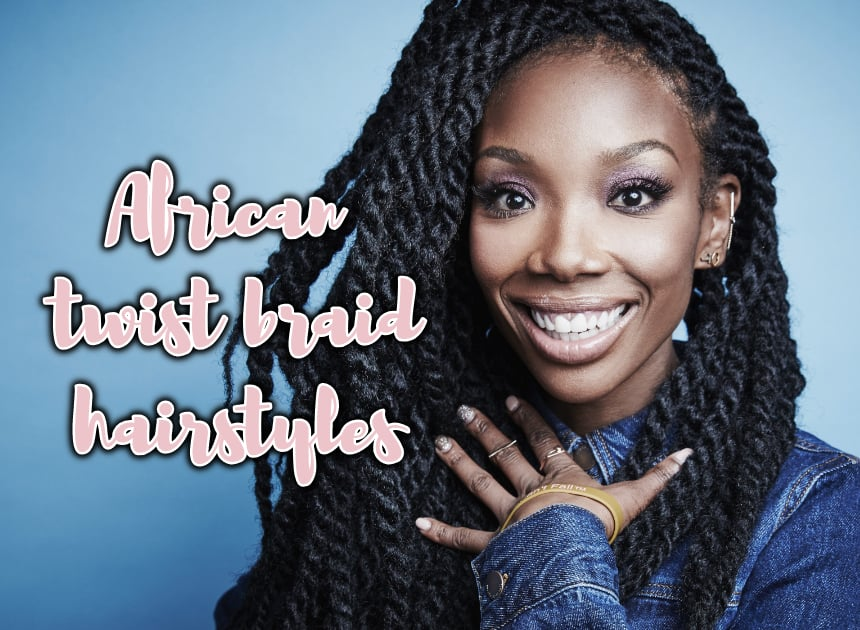 Latest Trends For Afro Twist Braid Hairstyles Naij Nigeria
