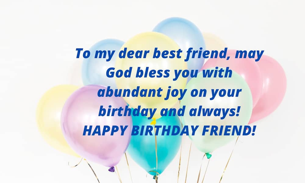 birthday prayer for friend