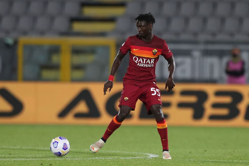 Roma manager Jose Mourinho lashes out at academy player Ebrima Darboe during preseason friendly