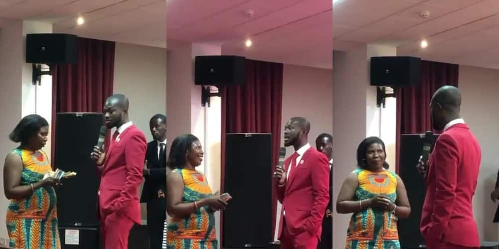 Ghanaian pastor gifts day's offertory to church member to start a business (video)