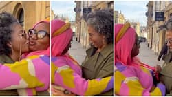 She looks under 30: Reactions as DJ Cuppy shares emotional moment her mother visited her at Oxford University
