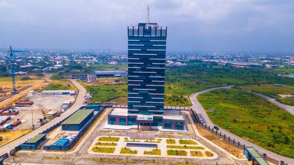 Dakadda tower, Nigeria's most IT complaint building, says Obasanjo