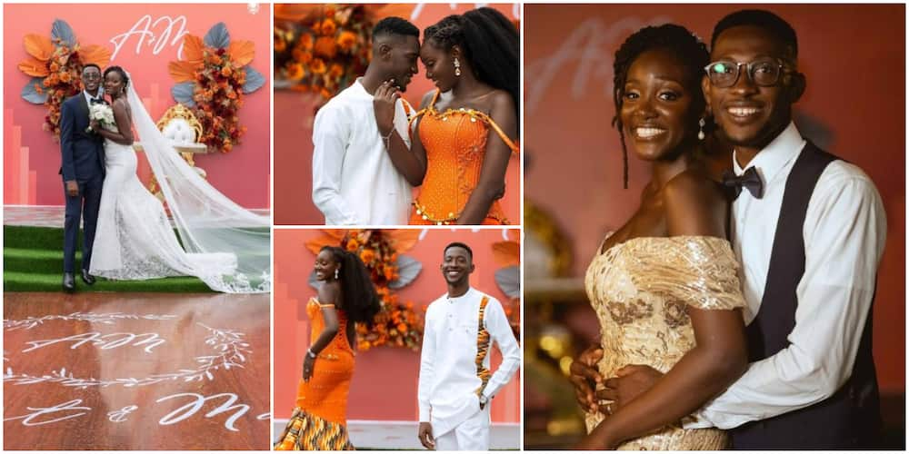 Beautiful photos as Nigerian lady marries photographer she met at friend's birthday party
