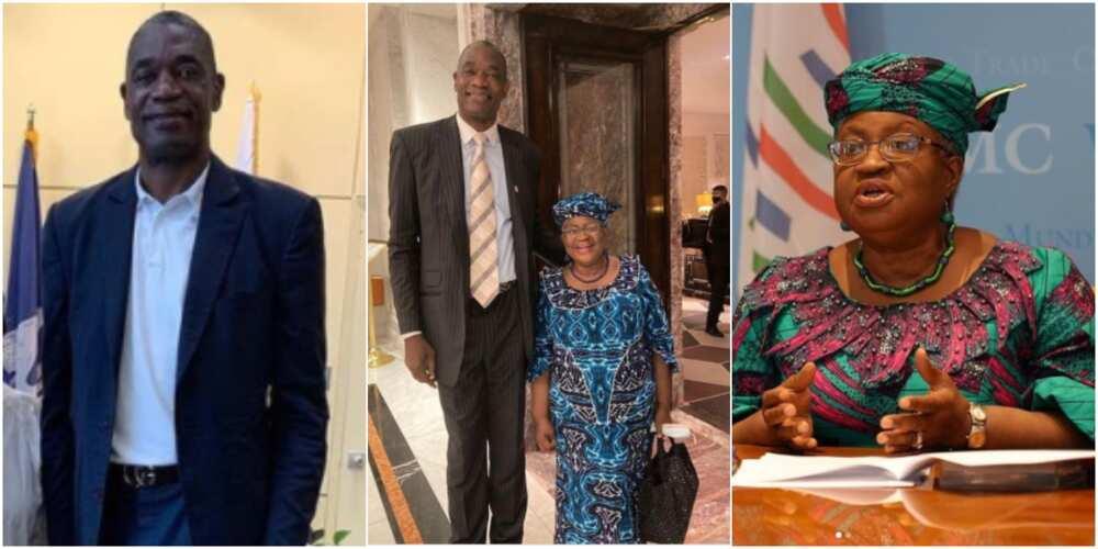 Dikembe Mutombo and Ngozi Okonjo-Iweala