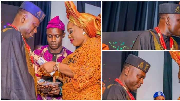 Actor Kunle Afod praises wife after success of his star-studded birthday party, movie premiere, shares photos