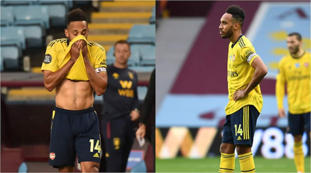 Pierre-Emerick Aubameyang: Fans slam star for embarrassing role to Aston Villa's goal