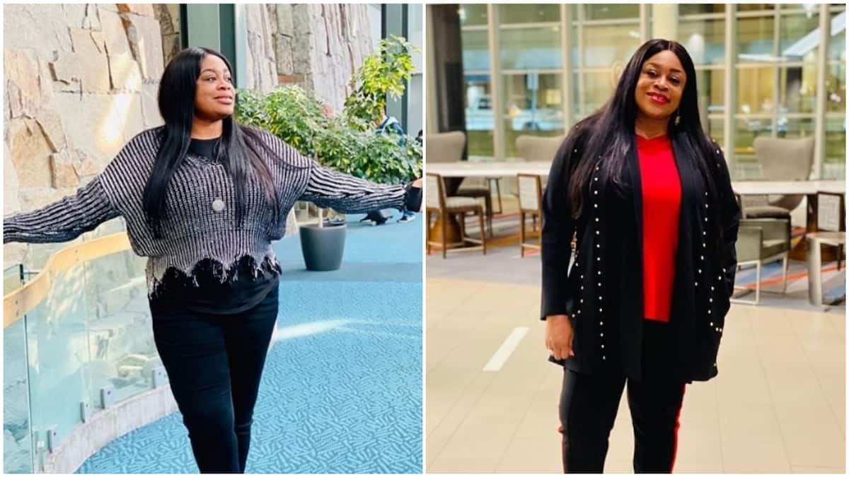 Gospel singer Sinach welcomes first child at age 46, after 5 years of marriage