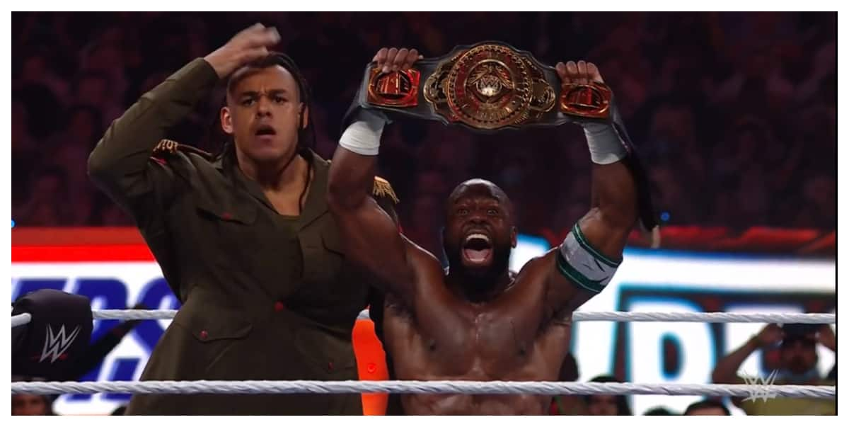 Nigerian WWE star sends strong message after becoming new Intercontinental  champion at Wrestlemania 37 ▷ Nigeria news | Legit.ng
