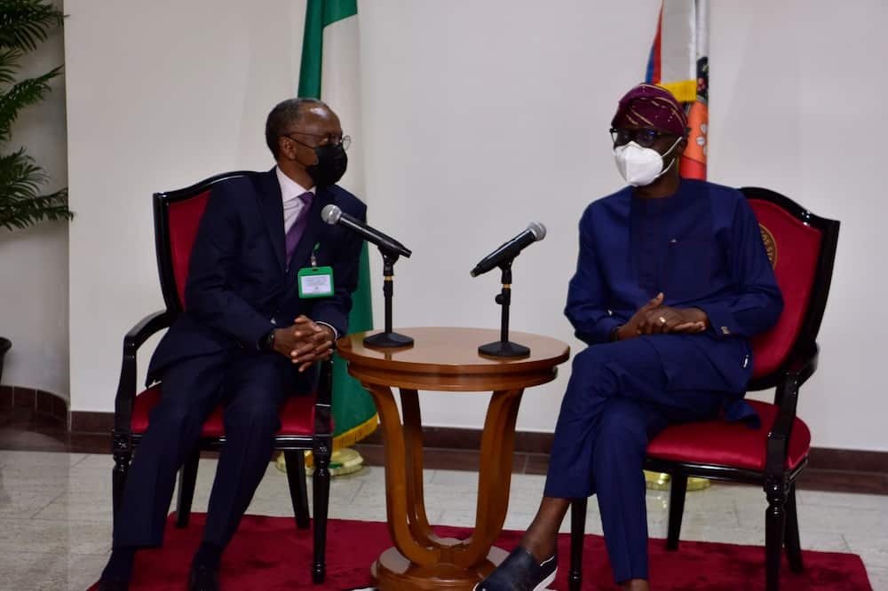 Governor El-Rufai visits Lagos, hold important meeting with Sanwo-Olu