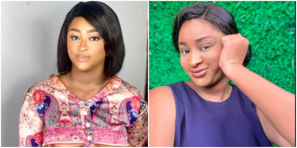 Actress Etinosa reveals her baby's face as they both feature on a magazine cover