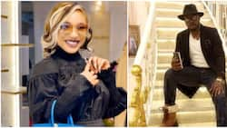 He needs to be taught a lesson: Reactions as Tonto Dikeh allegedly arrests ex-lover Kpokpogri