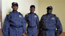 Social media users react to African custom official's interesting new uniform (photos)