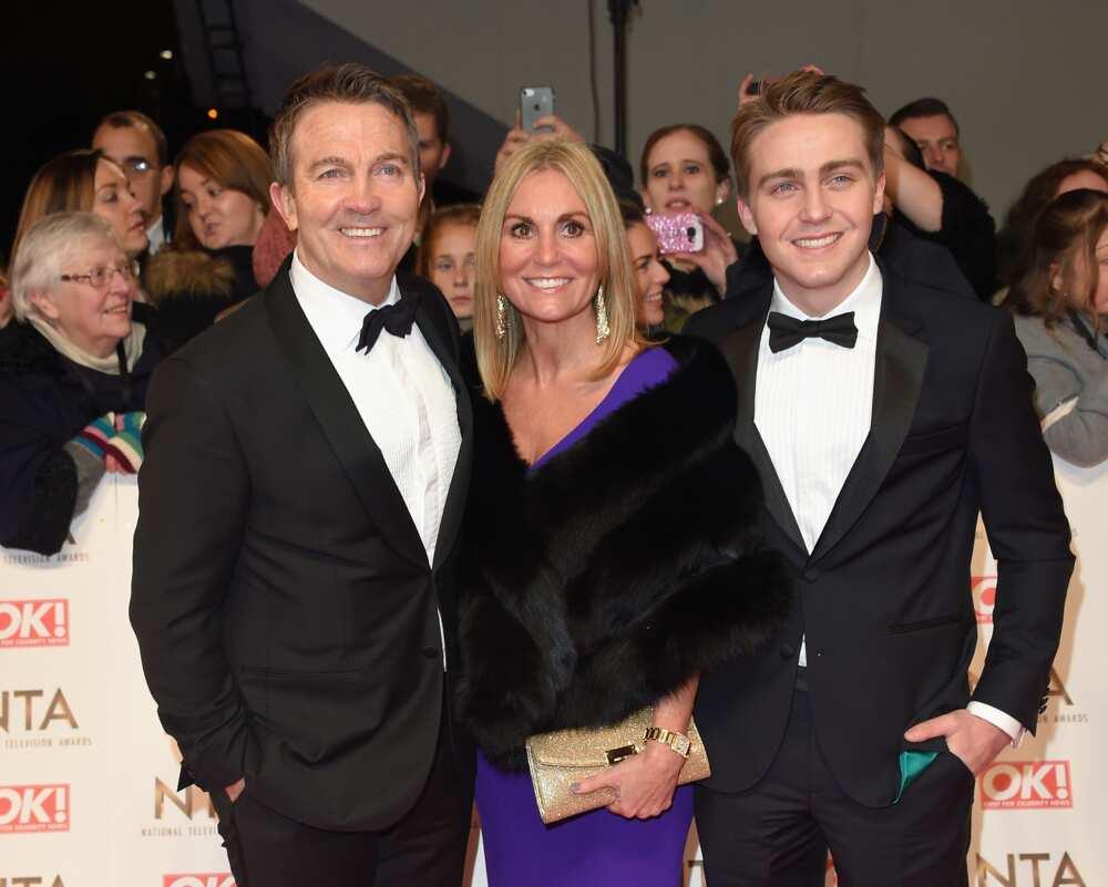 Bradley Walsh's son