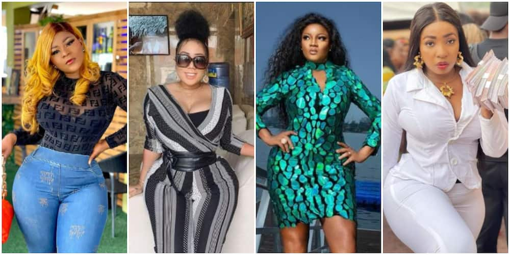 X Nigerian Female Celebs whose Banging Bodies Make Fans Wonder If They Had Surgery