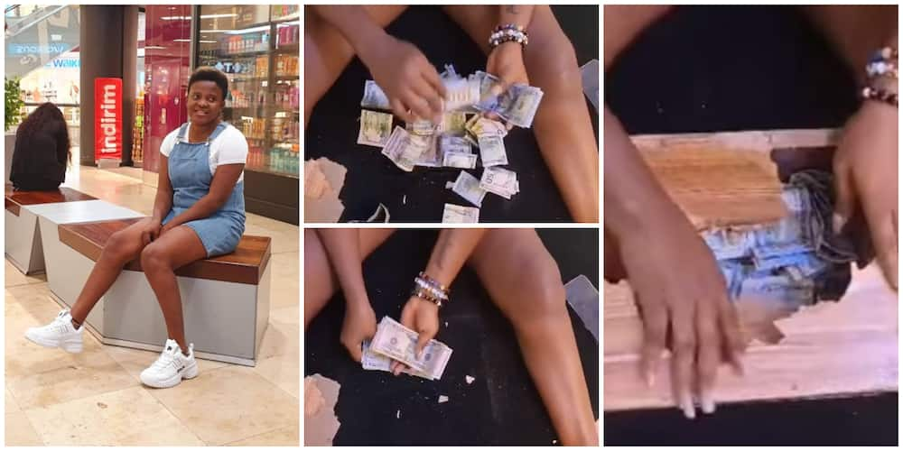 Nigerian Lady Breaks Her Piggy Bank after One Month, Finds Over N1m, Video Sparks Huge Reactions