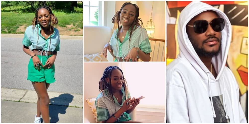 2baba's Daughter Looks Pretty in Photos As She Clocks 15, Mum Pero Celebrates Her Lovingly