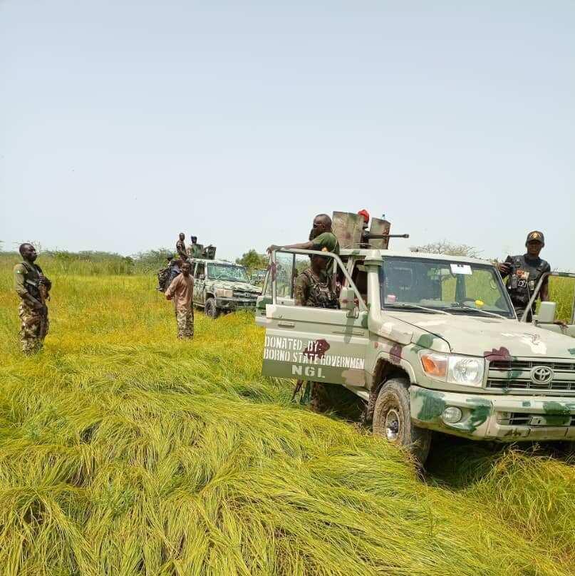 Dakarun Sojin Najeriya sun ragargaji yan ta'addan ISWAP a Borno, sun kashe 6