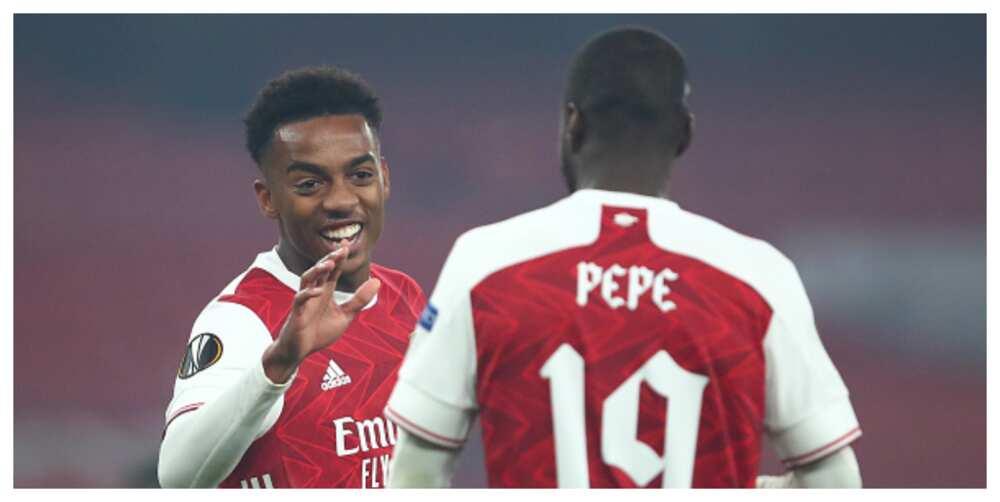 Arsenal vs Molde: Pepe, Willock score as Gunners win by 4-1