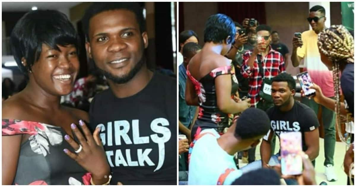 37dcd55f2d42ea6a - Amazing Story Of How A Nigerian Man Proposed To His Girlfriend At BBNaija Audition Yesterday (Pictures)
