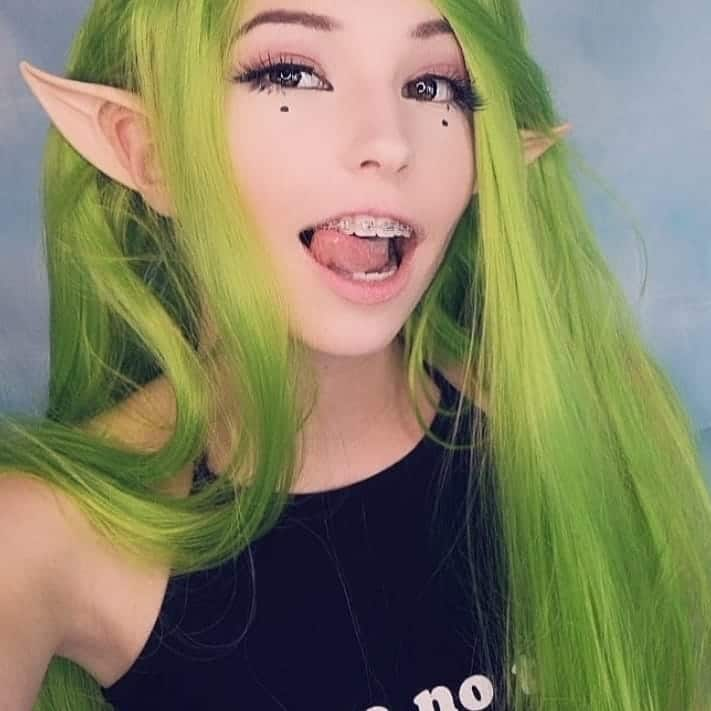How old is Belle Delphine?