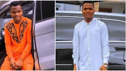 Nigerians react as comedian Oluwadolarz reveals he survived ghastly car crash
