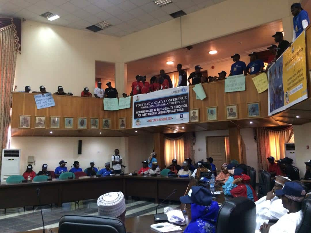 Day of the African child: Young activists urge government to increase education financing