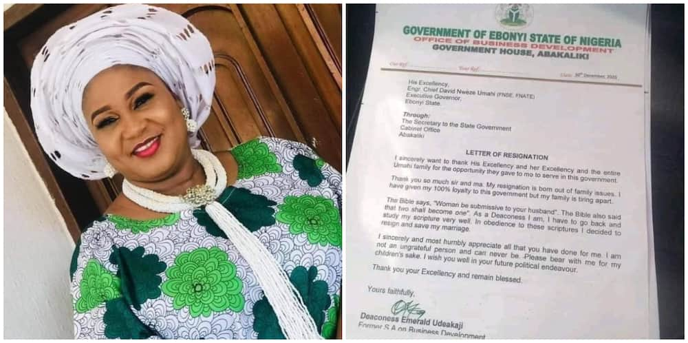 Governor Umahi's special adviser quits his government in a bid to save her marriage