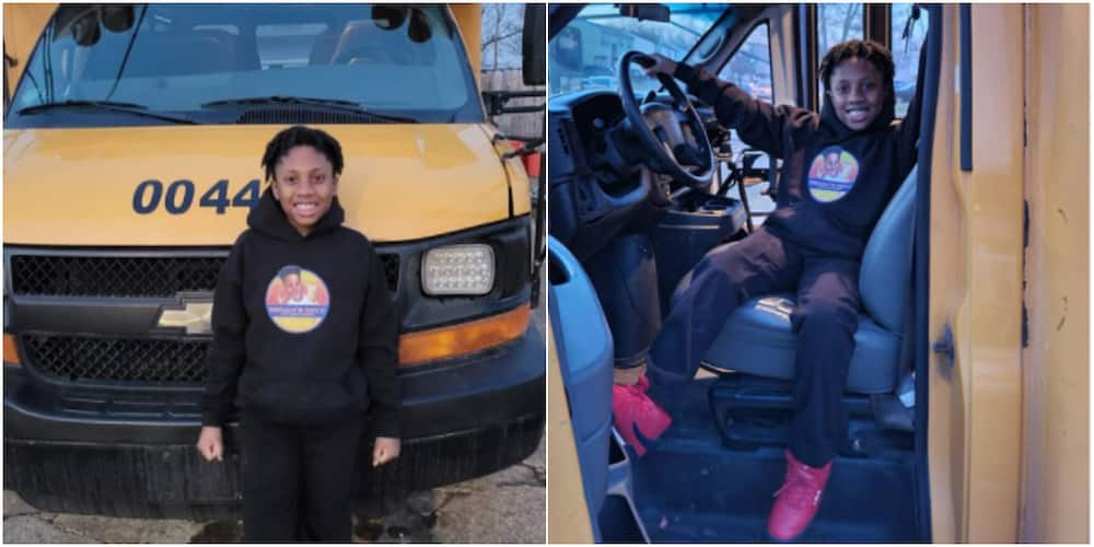 10-year-old CEO purchases old school bus to transform it into food truck after starting business at 8