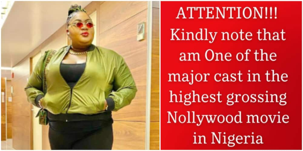 Omo Ghetto: Eniola Badmus brags as the movie becomes highest-grossing in Nollywood, says her price has gone up