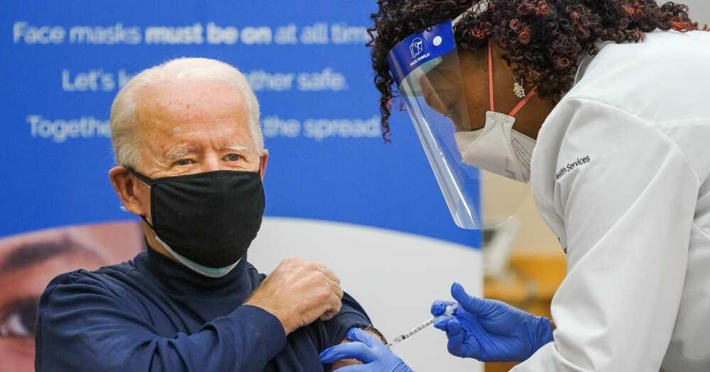 Joe Biden: US president-elect receives dose of COVID-19 vaccine on live TV